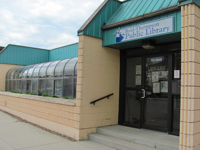 Humboldt Reid-Thompson Public Library - Limited Capacity