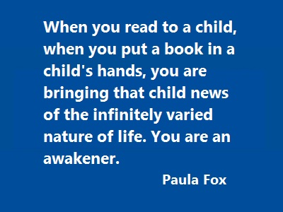 Read to a Child quote
